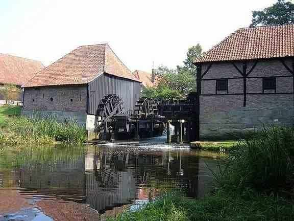 Watermolen in Haaksbergen