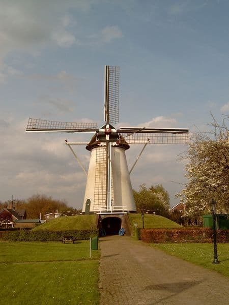 De molen in Elden